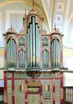 Restauración órgano barroco de Grijota, Palencia, 1987