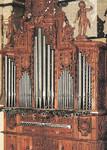Restauración órgano barroco del Convento de Santa Clara, Salamanca. 1988