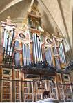 Restauración de órgano barroco en Ampudia, Palencia. 1992