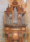 Restauración del órgano barroco de Frías, Burgos. 1993