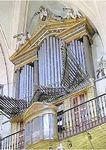 Restauración del órgano histórico en la iglesia de Nuestra Señora del Carmen y San Luis, Madrid. 2001