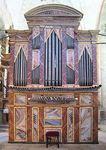 Restauración del órgano barroco de Castrojeriz, Burgos. 2001