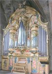 Construcción de un órgano nuevo en caja restaurada en Olite, Navarra. 2004