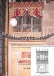 Restauración y descubrimiento del órgano Mariano Tafall en un convento de Santiago de Compostela. 2006